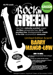 Rockin' Green Summer Scent 2013 - Barry Mango-lo