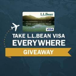 Take L.L.Bean Visa Everywhere Giveaway