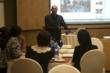 Manoj Sharma giving a talk