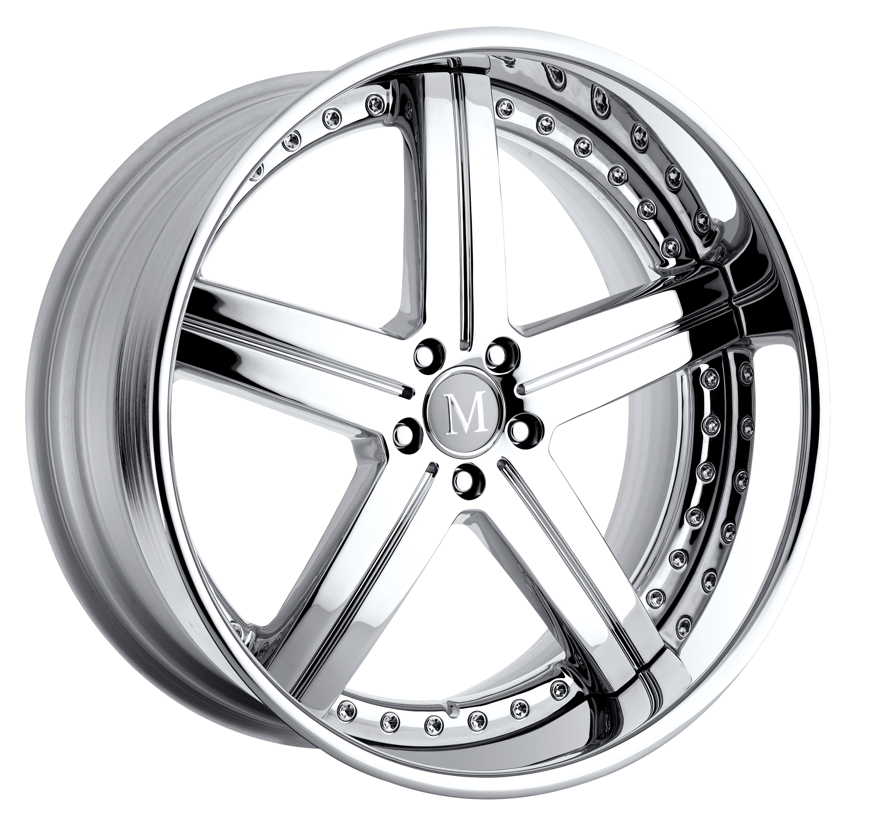 Mandrus wheels mono block rotec and multi piece stuttgart for Chrome rims for mercedes benz
