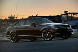Stuttgart Mandrus Wheels on a Mercedes Benz C Class