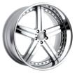 Mandrus Mercedes Wheels - the Stuttgart in Chrome