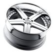 Mandrus Mercedes Wheels - the Stuttgart in Silver