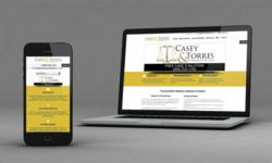 New website of Casey & Torres