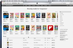 magazines, apps, print