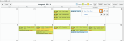 fp. Calendar showing new integration options