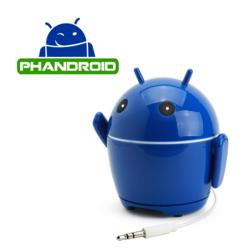 Accessory Power has created the GOgroove PhanBot to promote Phandroid's character