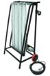 Explosion Proof Dolly Cart w/ Inline Switch for HAzardous Location Lighting
