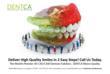 DENTCA's 3D CAD/CAM Denture System