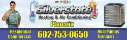 Silverstate HVAC 602-753-0650 is a Top Rated Air Conditioning Repair Contractor in Phoenix, AZ. Call now for Repair on Trane, Carrier, Lennox, Bryant, Maytag and other top brands.