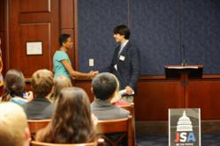 Rep. Donna Edwards (D-MD) Meets with JSA Students