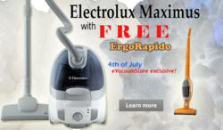Exclusive eVacuumStore.com vacuum package which includes EL4200A and EL1014A vacuum cleaners