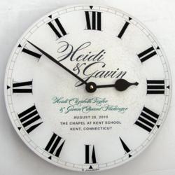 Wedding Invitation Clock