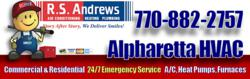 R.S. Andrews HVAC 770-882-2757 is a Top Rated Air Conditioning Repair Contractor in Alpharetta, GA. Call now for Repair on Trane, Carrier, Lennox, Bryant, Maytag and other top brands.
