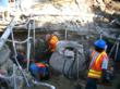 manhole repair, sewer repair, pressure grouting, drain cleaning