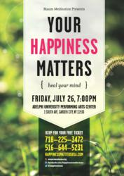 Your Happiness Matters, Maum Meditation