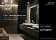 COTTO showcases its unique texture porcelain tiles and the latest...