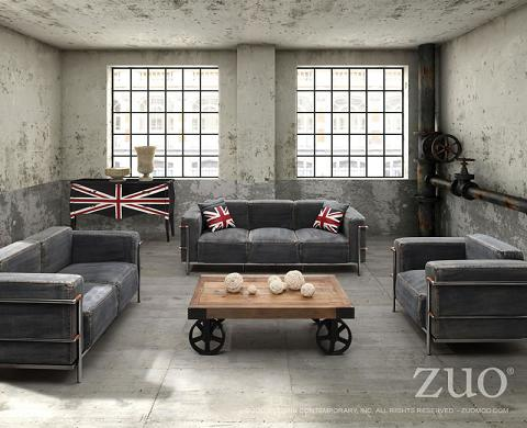 Has introduced a guide to urban industrial - Table basse loft industriel ...
