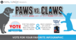 Vote for your favorite: Paws or Claws!