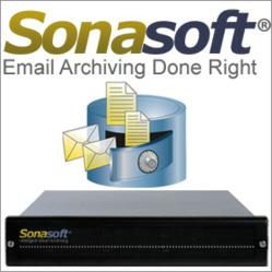 SonaVault Email Archiving Appliance powered by RGS and Microsoft Technology