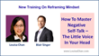 Louisa Chan and Blair Singer Release New Training To Reframe Mindset