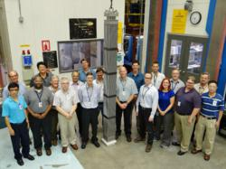 SMR test assembly at the Columbia Fuel Fabrication Facility.