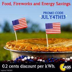 Oasis Energy promo code