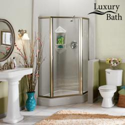 bathroom remodelers top tips for making a small bathroom look larger - Small Bathroom Remodel Corner Shower
