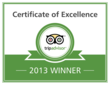 Fort Lewis Lodge Earns TripAdvisor 2013 Certificate of Excellence