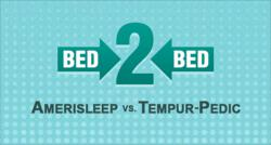 Amerisleep vs Tempurpedic Compared in in Latest Bed Ed Article