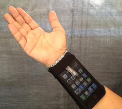 Phubby Wrist Cell Phone Holder