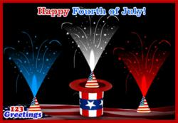 4th of July, 4th of July ecards, 4th of July 2013, 4th of July Fireworks, 4th of July wishes, 4th July Cards, Free 4th July eCards, Greeting Cards | 123 Greetings
