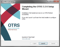 Complete Setup of OTRS Wndows Installer 3.0.1 boosts Service Management