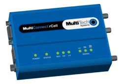Multi-Tech's MultiConnect rCell intelligent wireless M2M router - H6 model
