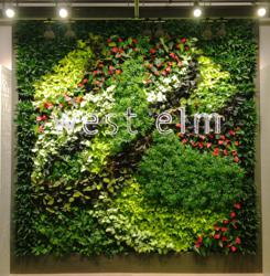 gsky, green walls, living green walls, living wall, vertical wall, west elm, versa wall