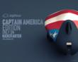 "Ziphius ""Captain America"" Edition front view"