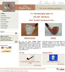 Home Page - The Right Pipe