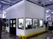 A-Mezz Industrial Structures new modular wall systems are 100% reusable and can be adapted to changing in-plant offices, cleanrooms, equipment enclosures or more - photo