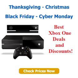 Black Friday Xbox One - Cyber monday Xbox One Deals