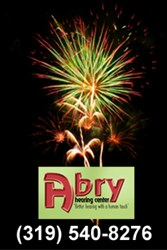 Abry Hearing Center in Cedar Rapids Fireworks Hearing Safety