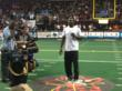 Dez Speaks to the Fans of the New Mexico Stars