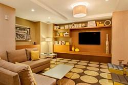 Lower lobby at the Residence Inn by Marriott New York Manhattan Midtown East hotel