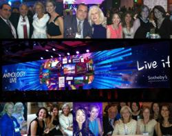 Julia Miller, Karen Saltzbart, and Joyce Wopat; together with top producing sales agents Bernadette Barnett, Lydia Chen, Elaine Eadon, Liz Lubin, Frank Pento, and Kelly Zaccaro attended the event with 1,400 of fellow local, national and global SIR affilia