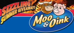 "Moo & Oink's ""Sizzling Summer Sweepstakes"" will give one lucky winner free Moo & Oink products for a year."