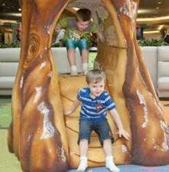 Kentucky Oaks Mall installed a PLAYTIME soft playground and immediately saw traffic increase.
