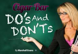 cigar bar, cigar lounge
