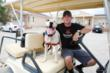 NASCAR Driver Michael Annett Visits Best Friends Animal Sanctuary
