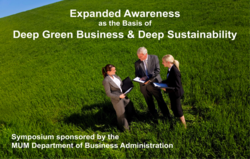 Deep Green Business and Deep Sustainability Symposium