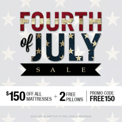 Amerisleep Announces July 4th Memory Foam Mattress Sale