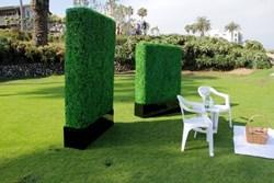 Geranium Street Floral - Artificial Hedge